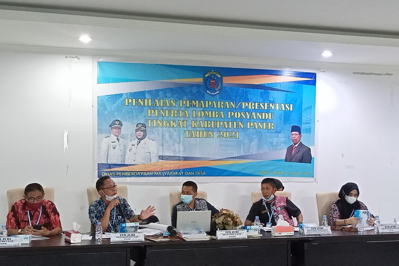 Lomba Posyandu Tingkat Kabupaten Paser Tahun 2021